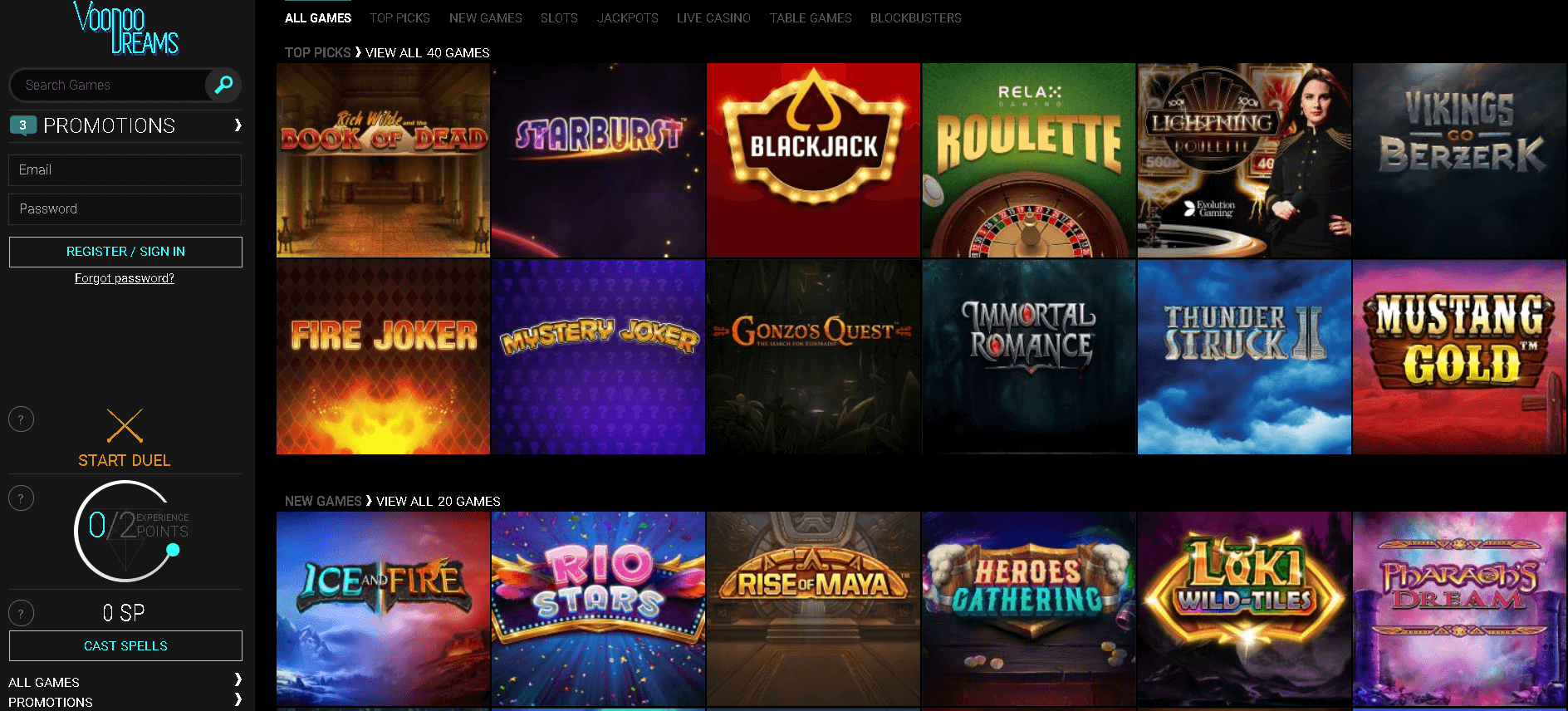Online private poker room