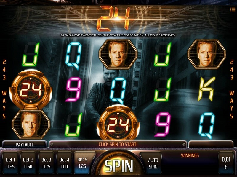 24 Slot