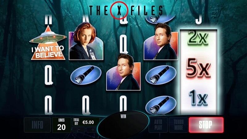 X files Slot