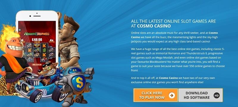 Cosmo Casino Online Pokies
