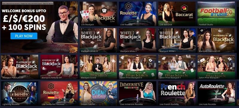 Fortune Jackpot Live Casino