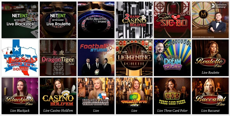 Gate 777 Live Casino