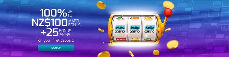 Hello Casino Welcome Offer