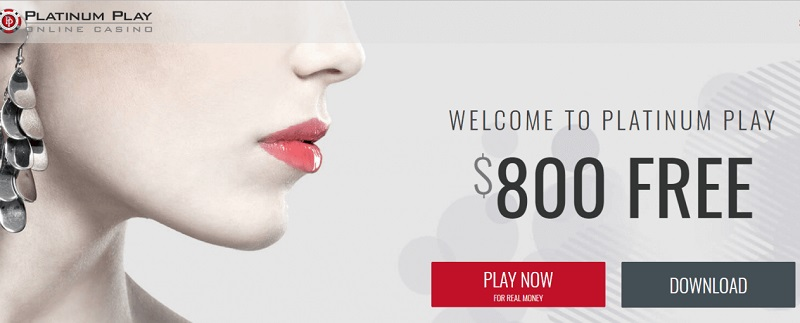 Platinum Play casino welcome offer