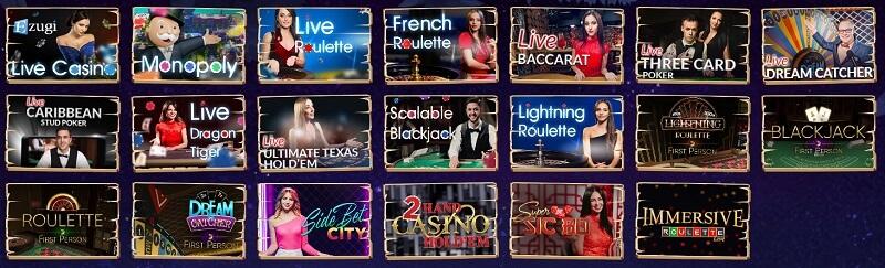 Wazamba Live Casino