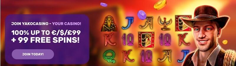 Yako Casino Welcome Offer